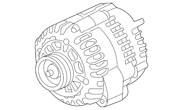 Alternator - GM (84143542)   Cheapest GM Parts