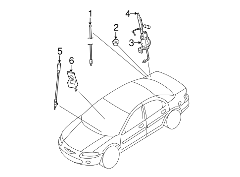 2005 Chrysler Sebring Strut Diagram
