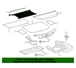 Pocket Sub-Assembly Pac - Toyota (64309-0R011-B1)