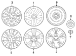 Wheel, Alloy - Toyota (4260D-0E020)
