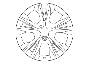 Wheel, Alloy - Toyota (42611-0E440)