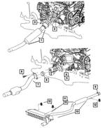 MOPAR 05105615AB Catalytic Converter Gasket
