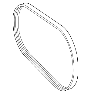 Serpentine Belt - Mercedes-Benz (002-993-09-96)