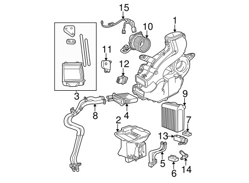 Auxiliary Ac Heater Unit For 2003 Chrysler Town Country