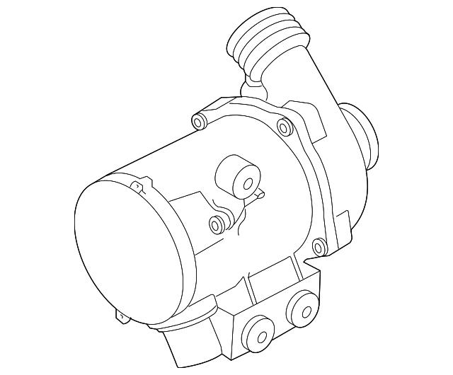 Genuine Bmw Water Pump 11517632426