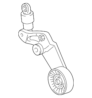 Serpentine Tensioner - Toyota (16620-22034)