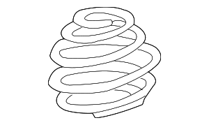 Coil Spring - BMW (31-33-6-761-210)