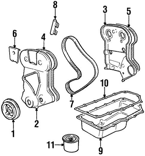 Engine Parts For 1999 Dodge Neon