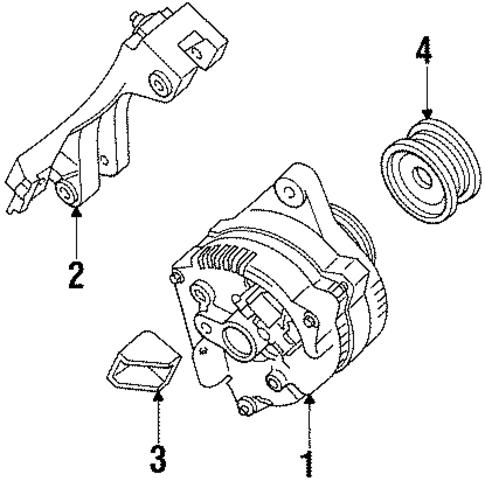 mercury mariner fuel filter alternator for 1998 mercury mystique
