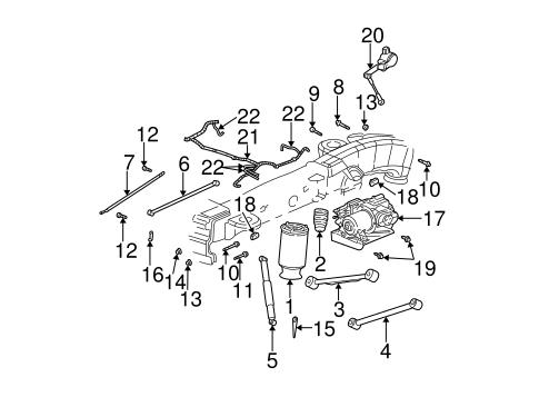 2004 Chevy Trailblazer Rear Suspension Diagram Enthusiast Wiring