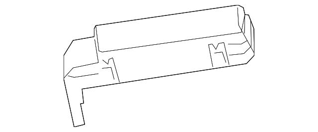 cover  main fuse box  upper
