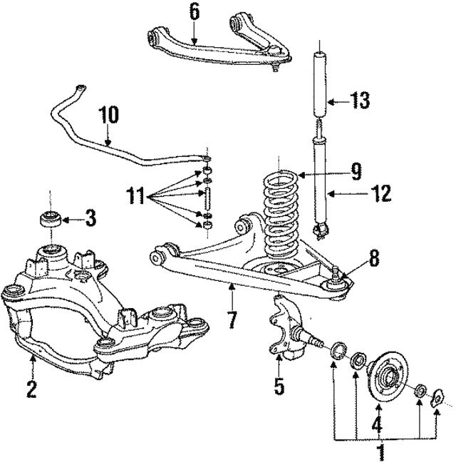 Control Arm - Mercedes-Benz (115-330-39-07)