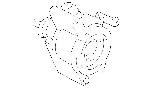 Power Steering Pump Toyota 44310 28270 Camelback Toyota