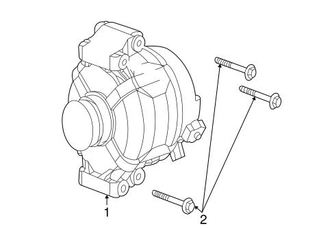 Alternator For 2007 Saturn Ion