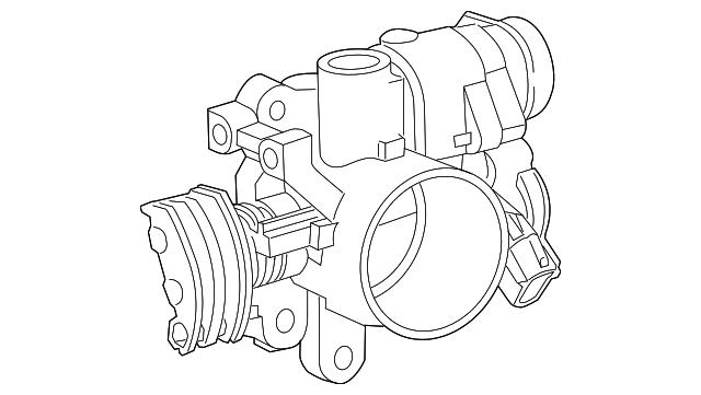 1997 2005 Mopar Throttle Position Sensor 4874430ab