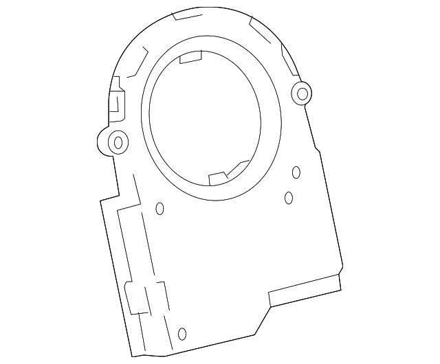 2013 2019 Lexus Angle Sensor 8924b 53010