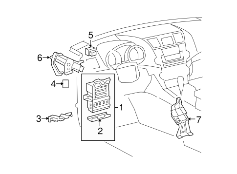 Electrical Components For 2010 Toyota Highlander