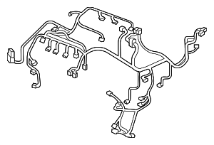 Wire Harness, Engine - Acura (32110-RDF-A52)