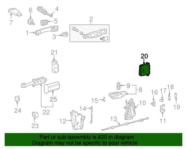Control Module - Mercedes-Benz (210-820-77-26)   MB OEM Parts