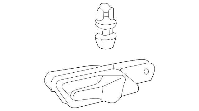 1998 2003 mercedes benz handle inside 208 760 01 61 keyes CLK 550 AMG handle inside mercedes benz 208 760 01 61