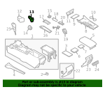 Power Outlet - Nissan (25331-6CA0A)