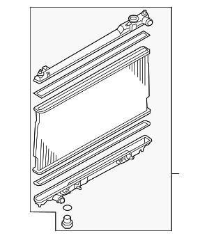 Radiator Assembly - Infiniti (21460-EH10A)