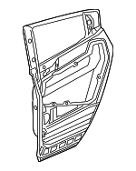 Panel, L Rear Door (DOT)