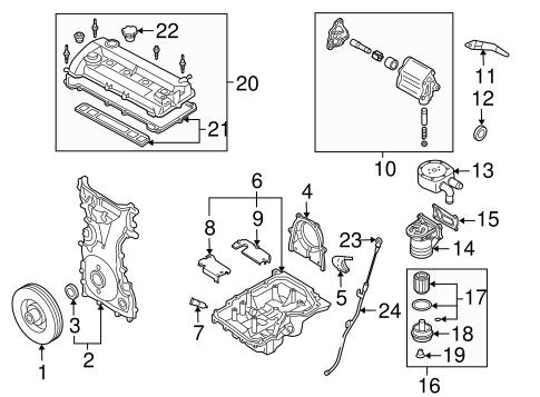 engine parts for 2007 mazda 3 | realmazdaparts.com  real mazda parts