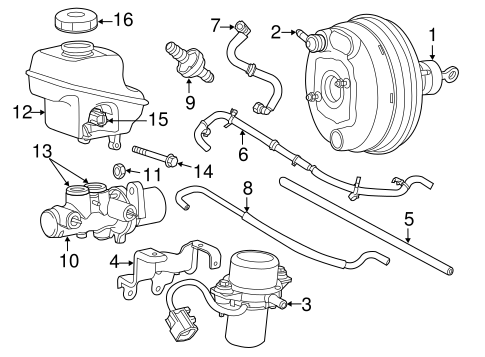 Hydraulic System For 2016 Chrysler 300