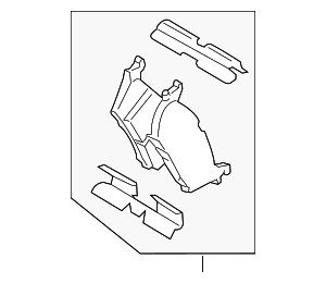 Brake Pads - Ford (FL3Z-2200-B)