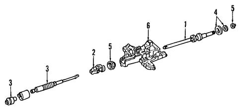 Steering Column for 1997 Ford F-250   OEMFORDPART