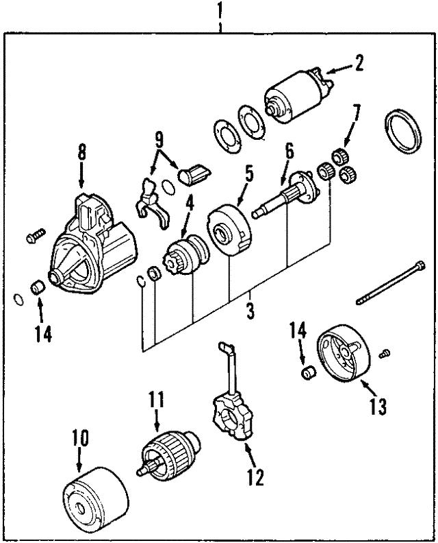 Mitsubishi Pinion Gear Md619864