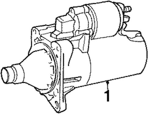 Starter For 1998 Dodge Neon