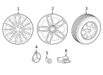 Wheel - Mercedes-Benz (257-401-20-00-7X21)