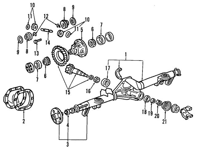 1990 2014 Ford Clutch Kit 6l1z 4947 B