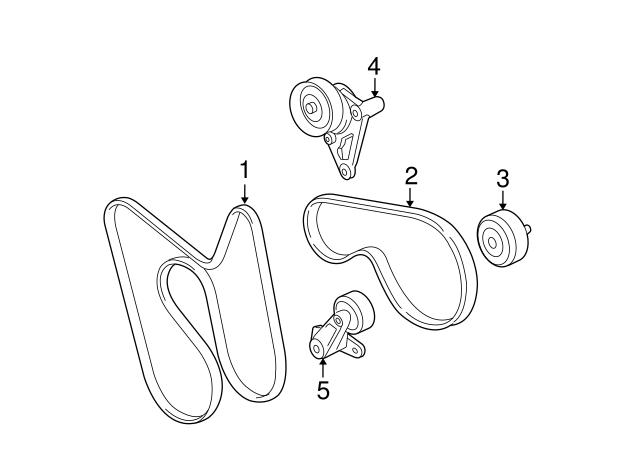 GM OEM-A//C AC Serpentine Belt 19210691