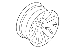 Wheel, Alloy - BMW (36-11-6-767-828)