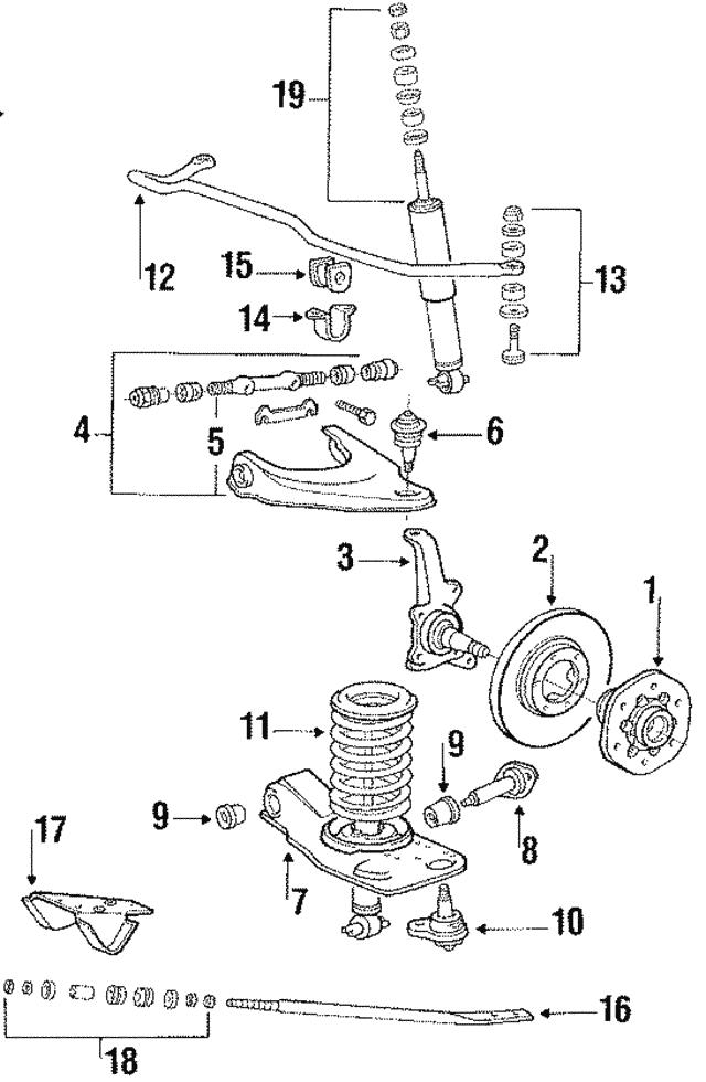 wiring diagram 1988 mitsubishi mighty max genuine oem ball joint part mb176283 fits 1984 1996 mitsubishi  genuine oem ball joint part mb176283
