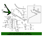 Wiper Arm - Mercedes-Benz (172-820-01-44)