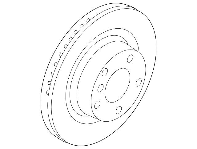 2013 2018 Bmw Brake Rotor 34 21 6 864 900
