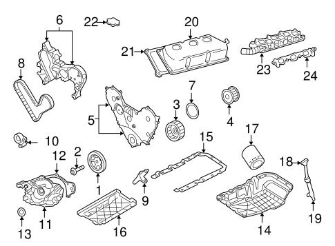 engine parts for 2008 chrysler 300