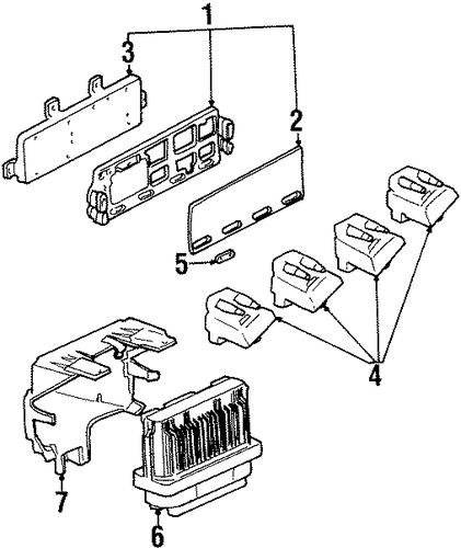 1998 Oldsmobile Aurora Engine