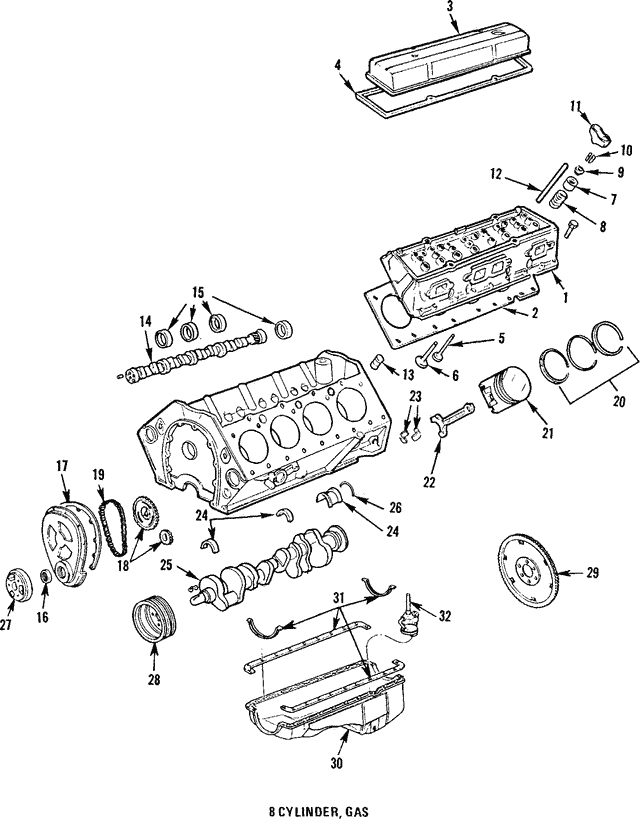 Head Gasket - GM (10105115)
