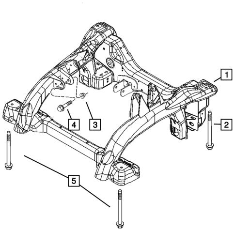Dodge Ram 2500 Front Suspension Diagram