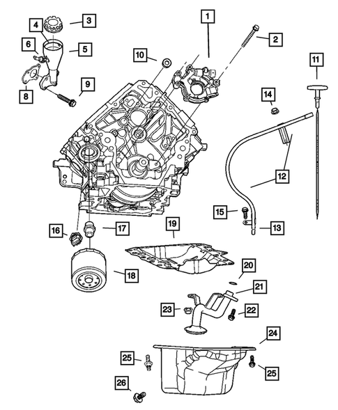 32 2005 Dodge Dakota Exhaust System Diagram