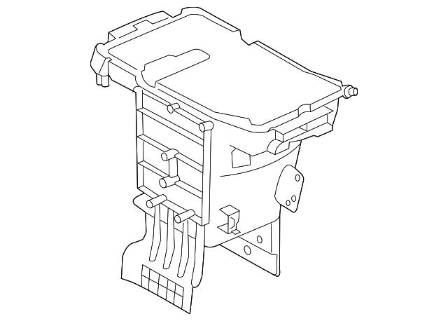 Genuine Mopar Storage Compartment 5sf42dx9aa