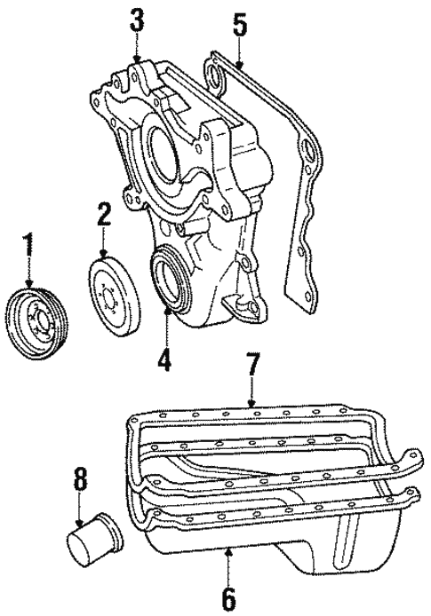 engine parts for 1997 jeep grand cherokee