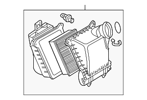 Air Cleaner Assembly - Audi (079-133-837-J)