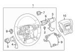 Steering Wheel - GM (84483779)