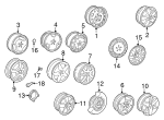 Wheel, Alloy - Saab (32026148)